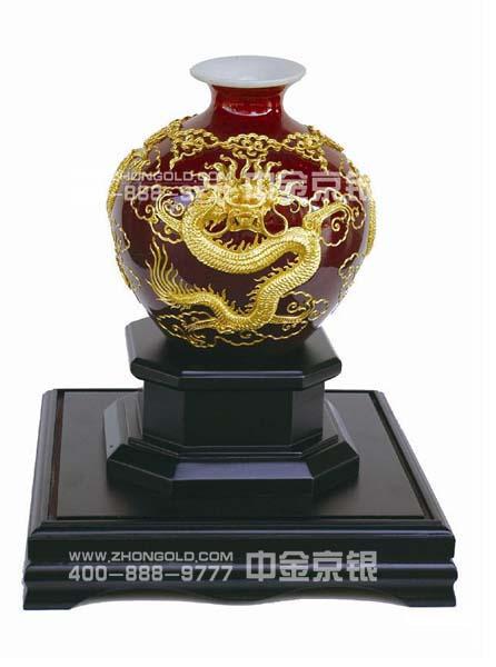 上海印钞厂_金线雕瓶_中国黄金品质-中金京银